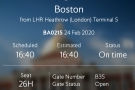 By now it was 40 minutes before our flight was due to leave. The gate was showing open...