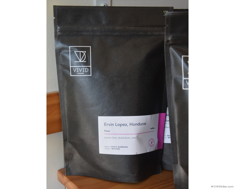 This is the current Little Woodford house coffee (for the start of 2020).