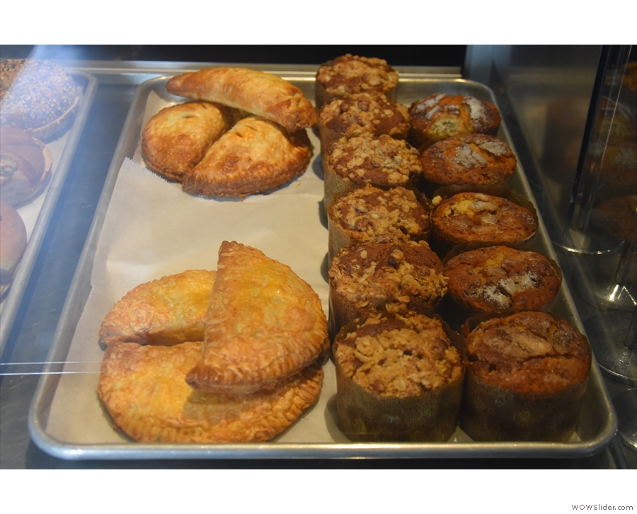 ... hand pies and muffins.