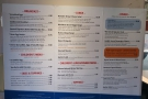 ... the last time I took the train, with separate lunch/dinner menus, plus lots more choice.
