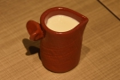 ... check out the dinky milk jug that comes with it!