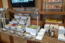 ... a small salad bar...