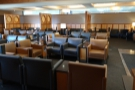 ... which might explain why the lounge had suddenly emptied!