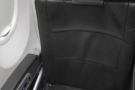 ... where I was sitting in Seat 3F, over by the window.