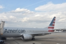 ... although I suspect it looked very much like this Boeing 737-800 on the stand next to us.