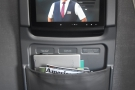 There was a large, clear screen in the bulkhead in front of me.