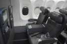 ... each with two seats either side of the aisle. This, counterintuitively, is Row 3...