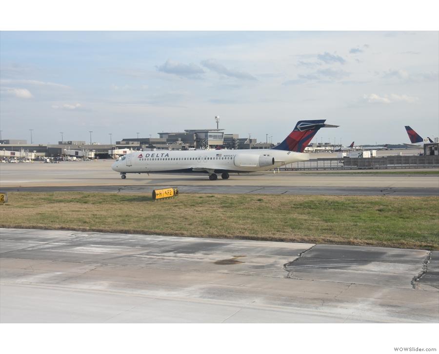 Another Delta flight...
