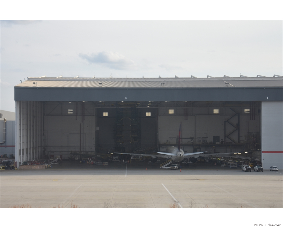 Now that is a big hanger!