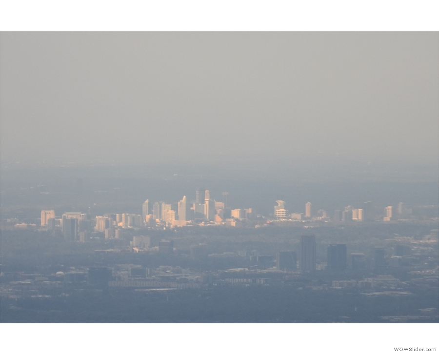 ... while this second, sunlit cluster could be North Buckhead.