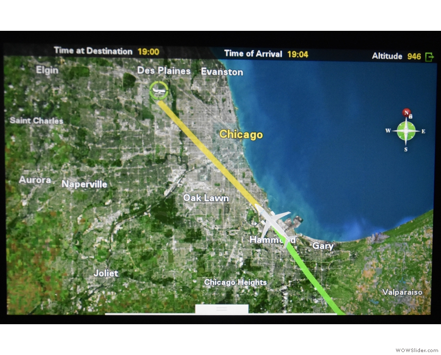 ... where we should be getting great views of Lake Michigan, only...