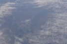 ... passing over I-40 as it runs past Crab Orchard Quarry in Tennessee.