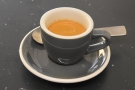I decided to have an espresso, the Martir, a Colombian single-origin roasted by SEY.