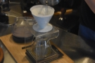 We, however, decided to go for pour-over, which is made on the countertop using a V60.