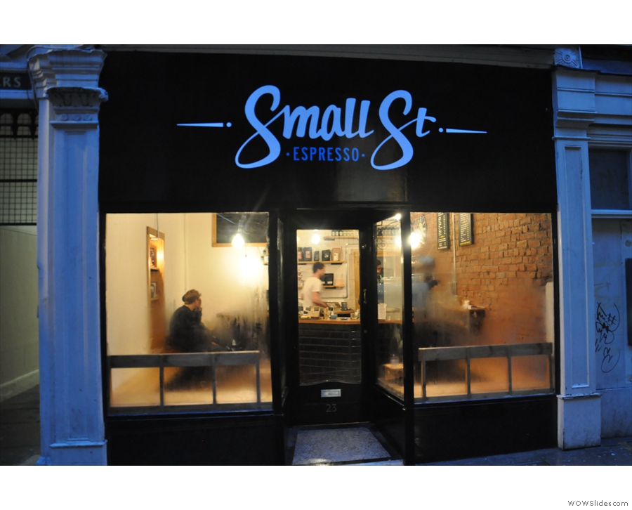 Small St Espresso: a chance to revisit one of my favourites from earlier in the year