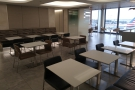 ... with lots of tables for eating your breakfast/lunch/dinner at.