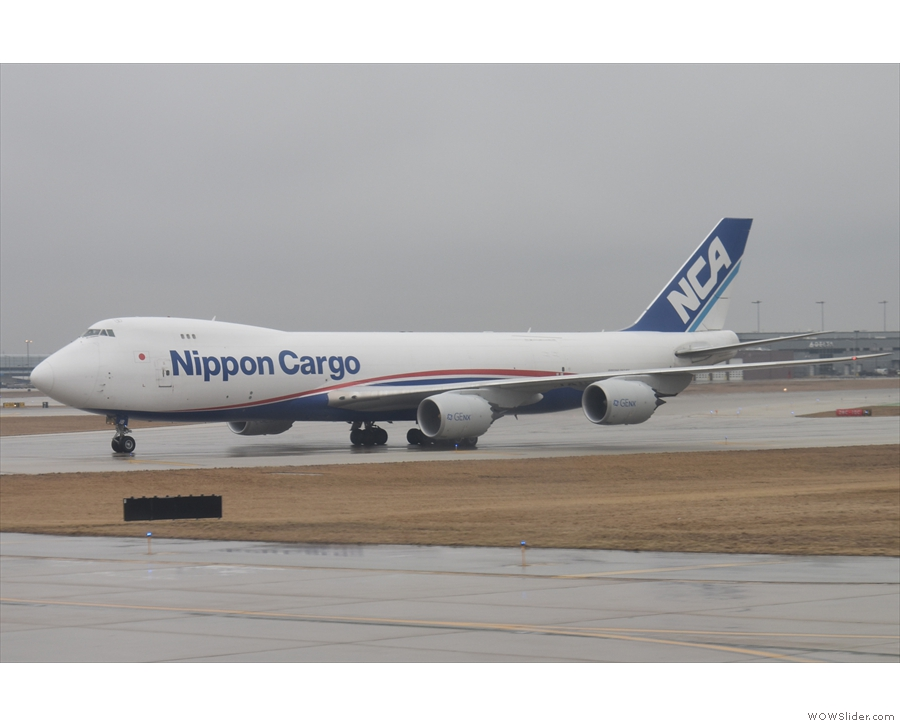 ... followed by a Nippon Cargo one!