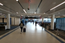 ... and then a short walk through the quiet (but not as quiet as O'Hare) airport...