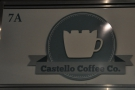 Castello Coffee, another tiny offering from Edinburgh