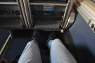 Once again, there's so much legroom.