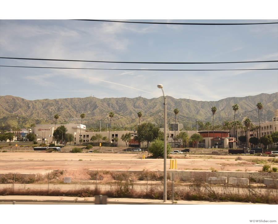 I do love those mountains, which you can see from the city on a clear day.