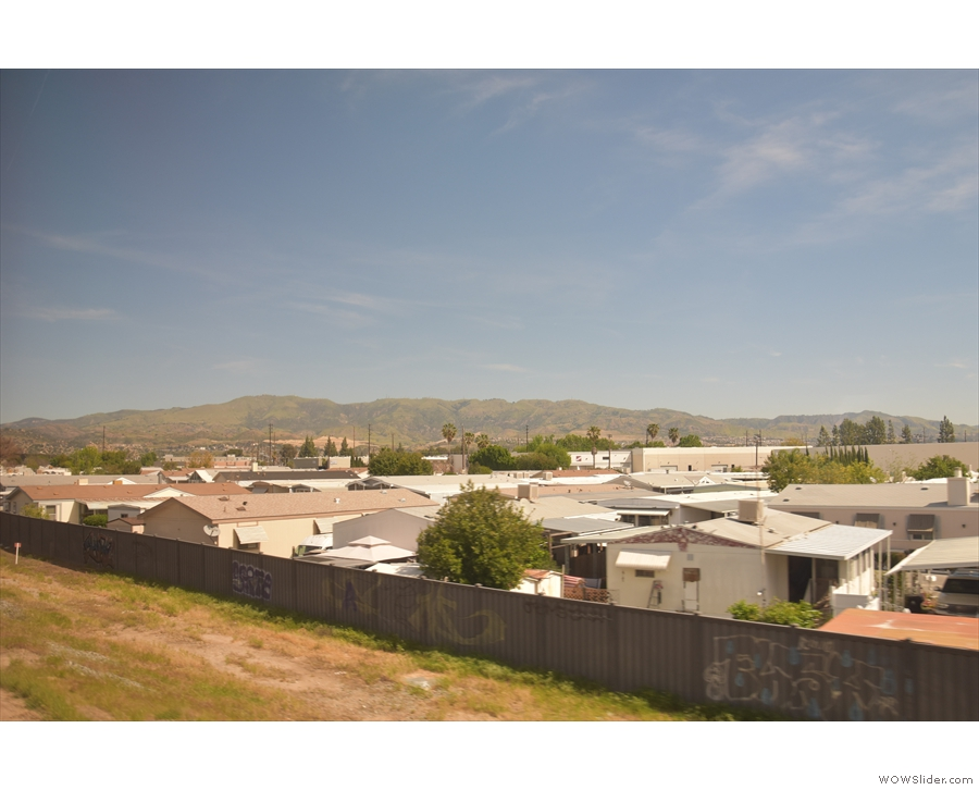 ... the San Fernando Valley.