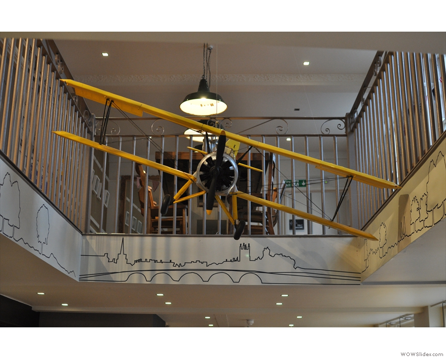 Boston Tea Party, Worcester, the only Coffee Spot with its own plane!