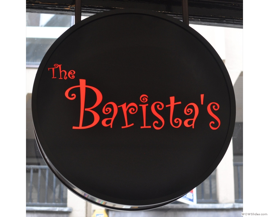 The Barista's, Chester, in perhaps the oldest building occupied by a Coffee Spot