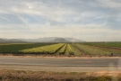 By now, we're in the Santa Clara River valley, with the mountains now in the far distance.