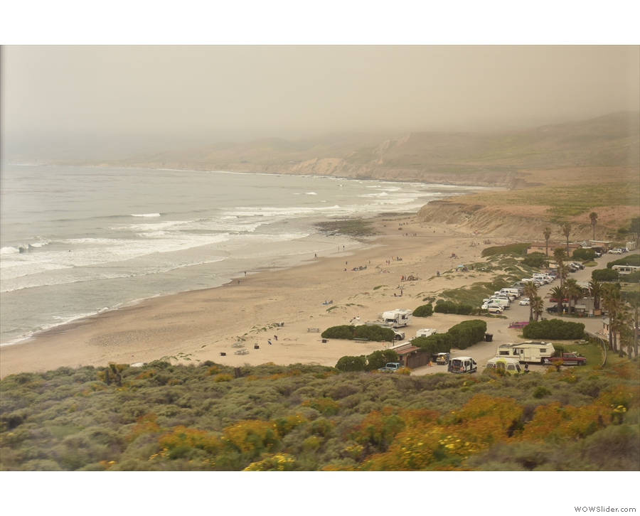 ... which leads to the Jalama Beach County Park...