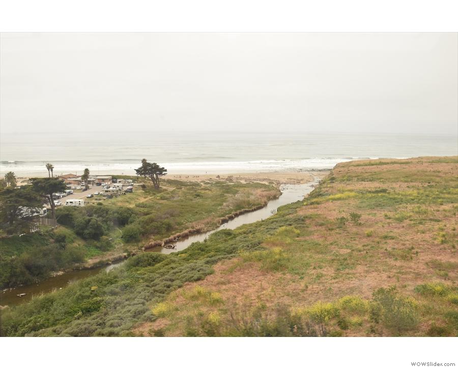 We cross Jalama Creek and leave the beach behind.