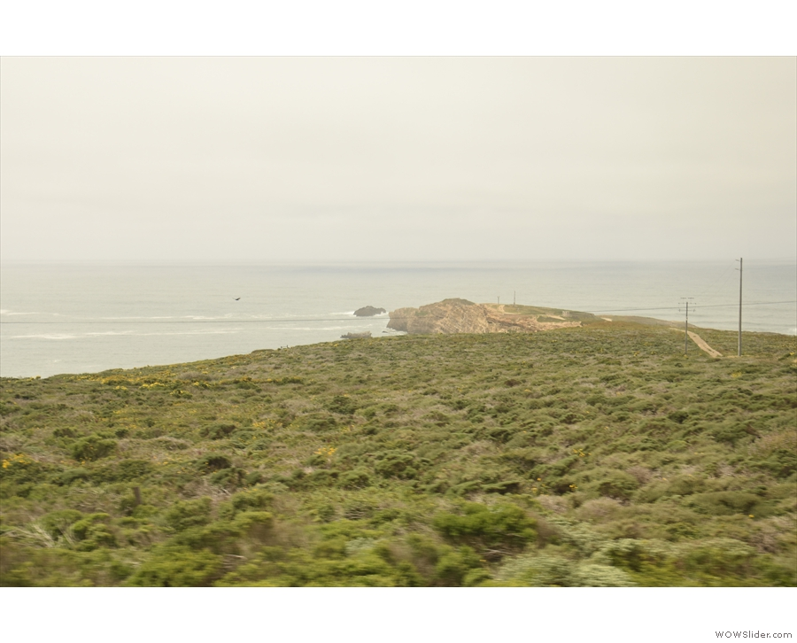 And here's  Point Arguello itself.