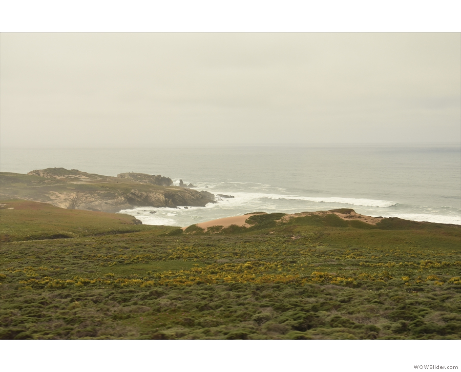 Beyond  Point Arguello, the coast gets even more rugged...