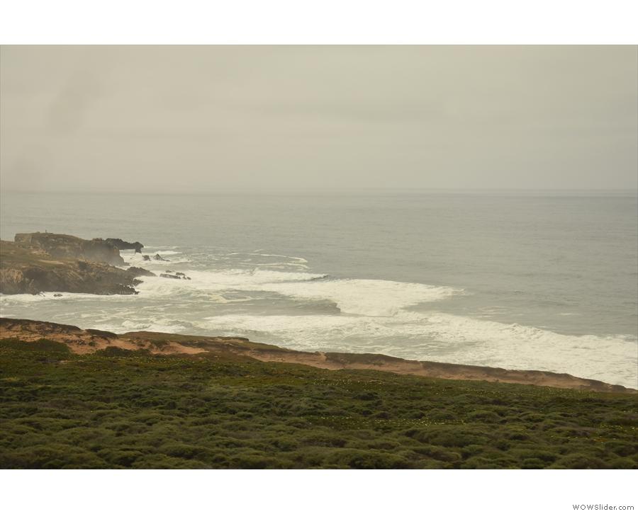 ... the surf gets bigger...
