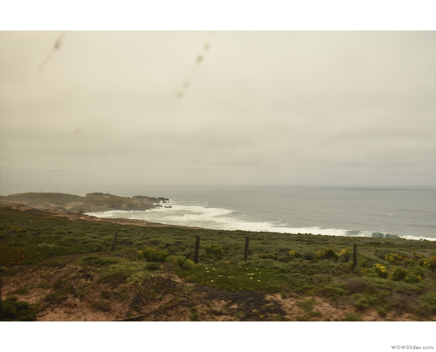 A last look at  Point Arguello...