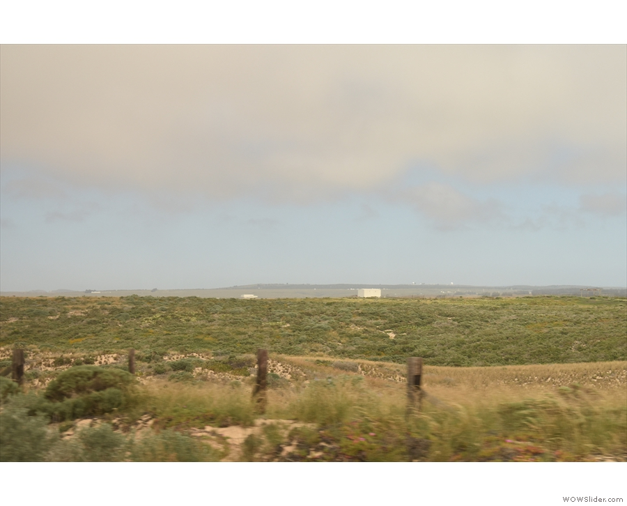 Last views of the launch facilities as we leave the Vandenberg Air Force base behind too.