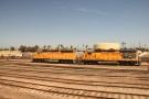 ... followed by railway sidings and...