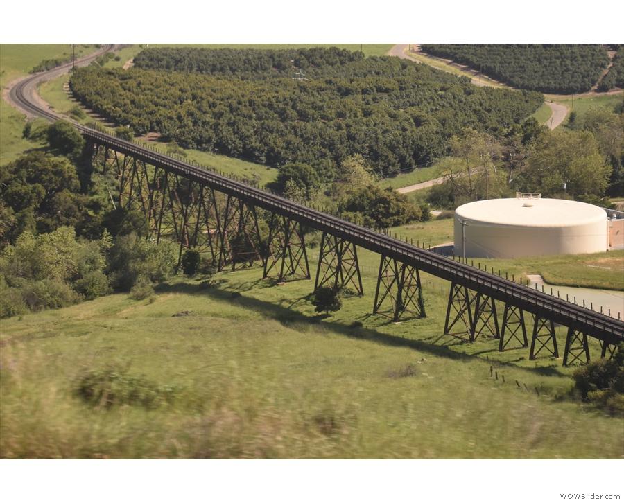 Nice bridge (it's the Stenner Creek trestle bridge if anyone is interested).