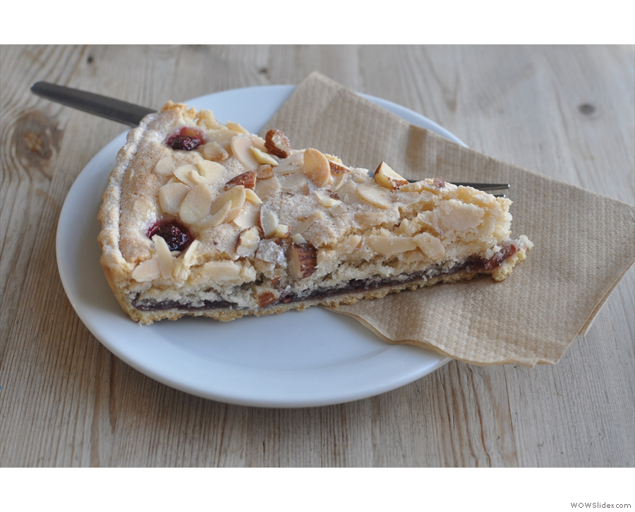 Nest, Brighton, home of the awesome Bakewell Tart