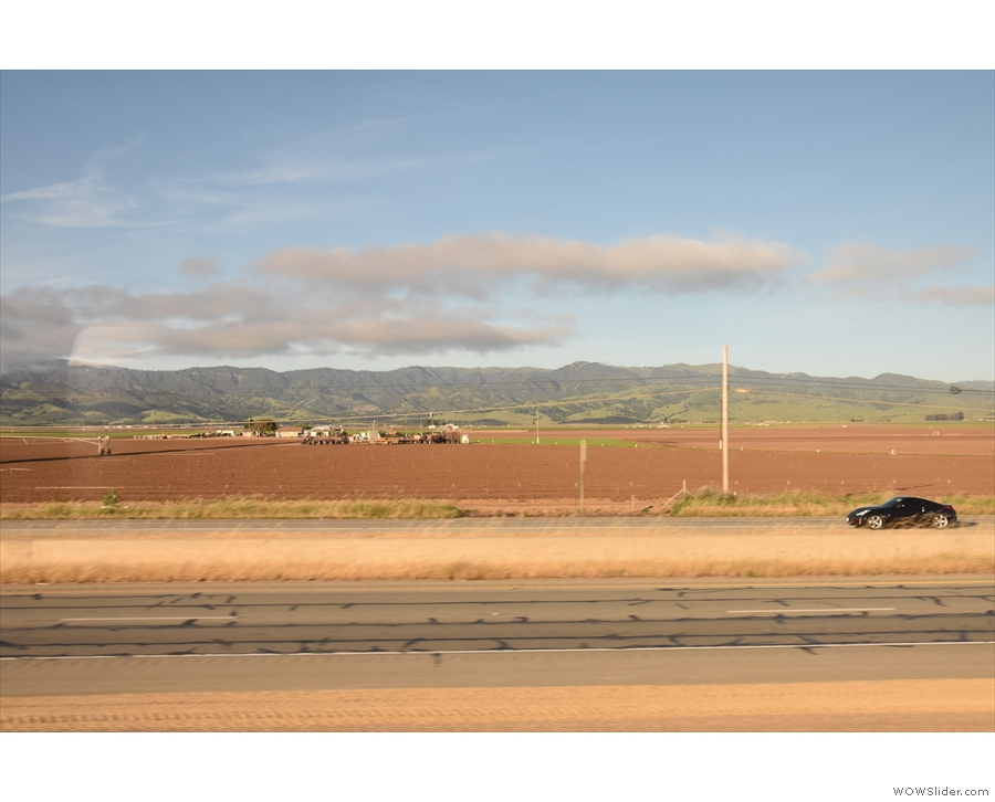 ... at which point we weren't very far from our next stop, Salinas.