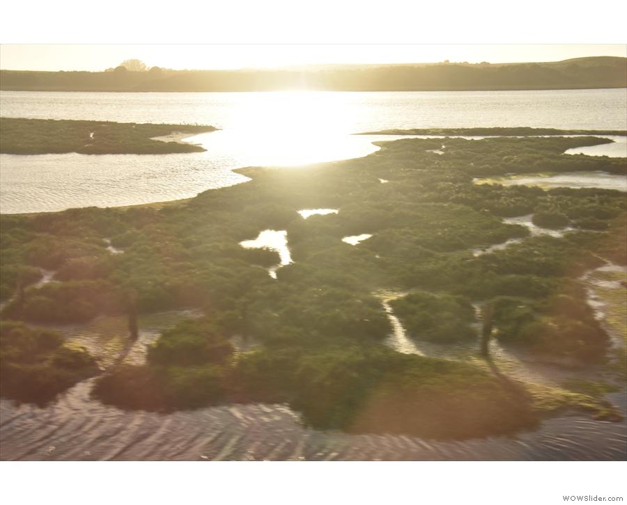 ... a lovely river estuary near Moss Landing.