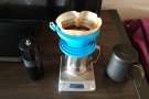 There was just time to make a pour-over before my conference call.
