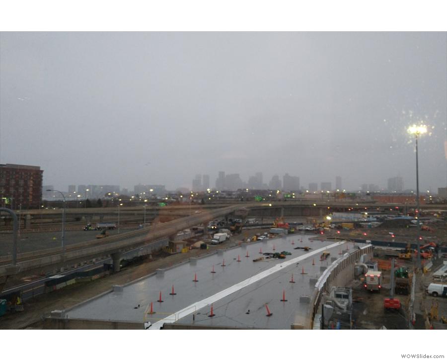 It was pretty gloomy outside...