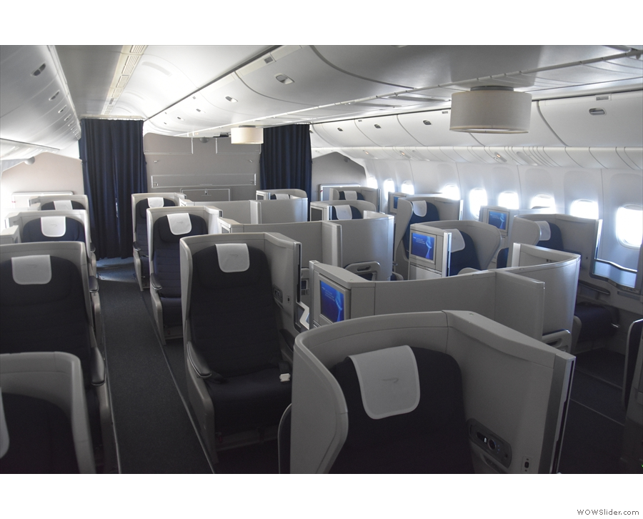 I was flying Club World, which was nearly empty. A good enough excuse, I thought...