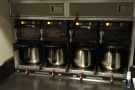 The all-important coffee-making section of the galley!