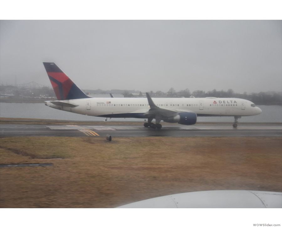 ... and this not so little one from Delta...