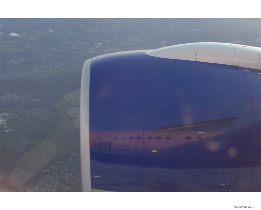 Another good reflection in the engine cowling.