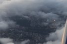 Another break in the clouds reveals Buckingham Palace and St James's Park.