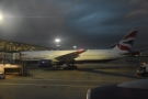 ... alongside another 777-200. And I'm home.