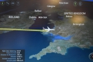 It takes less than 15 minutes to cross the Irish Sea when traveling at over 900 km/h.